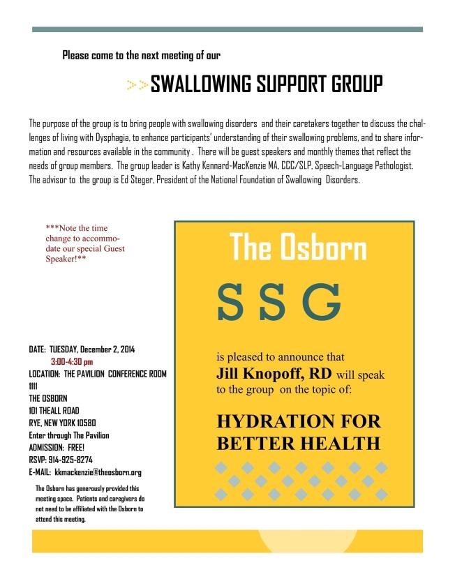 Osborn Support Group Flyer (12-2-14)