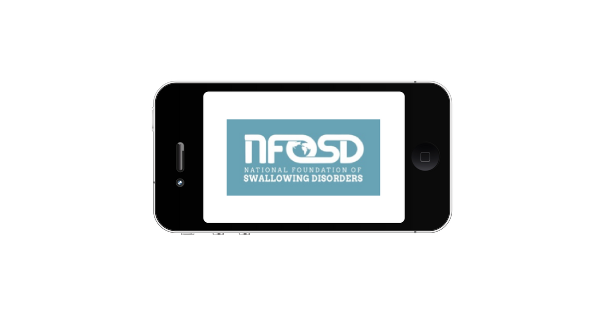 Swallowing Apps for Patients and Clinicians   National Foundation of ...